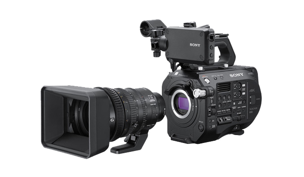 Sony Announces the FS7 II and New Super 35 Lens