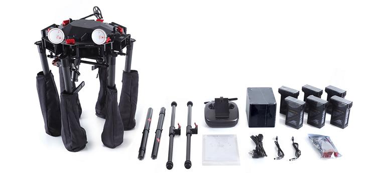 DJI Announces Three New Professional Video Drones: M600 Pro