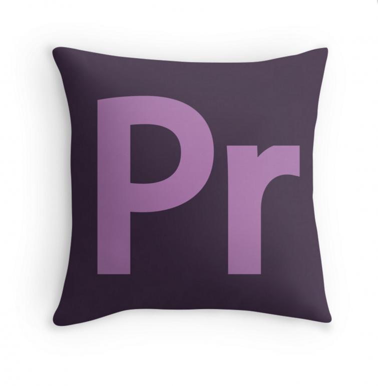 Adobe Premiere Pro Pillow