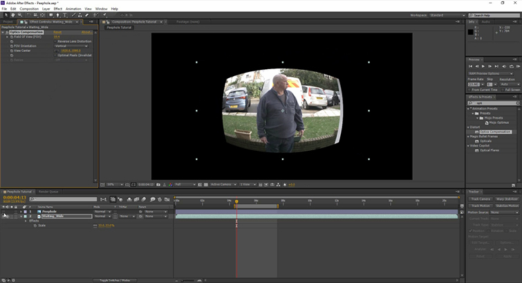 Video Tutorial: Create A Peephole POV in After Effects — Convex Effect
