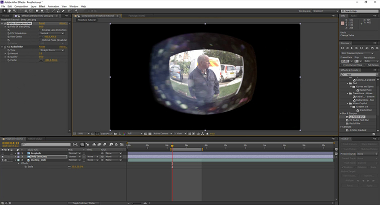 Video Tutorial: Create A Peephole POV in After Effects — View Center