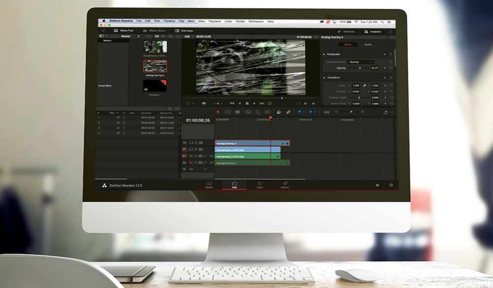 Quick Tip: How to Use Composite Modes in DaVinci Resolve