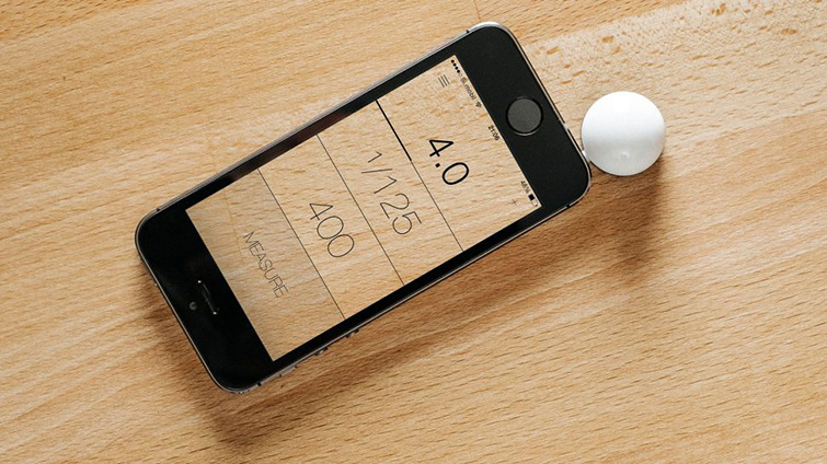 7 Clever (and Affordable) Holiday Gifts for Filmmakers: iPhone Light Meter