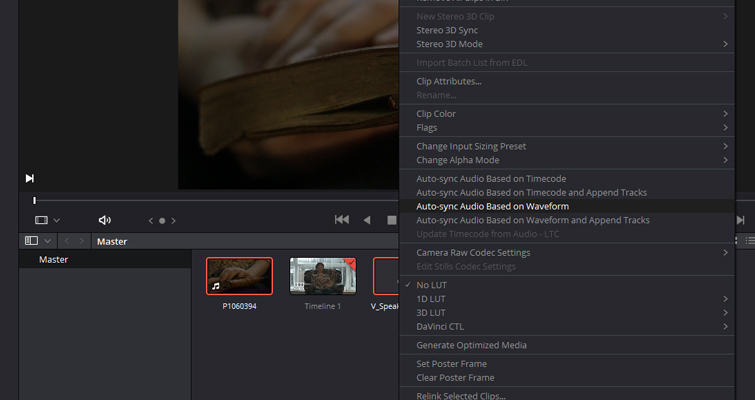 Speed Up Your Editing In Resolve With These Quick Tips — Media Pool