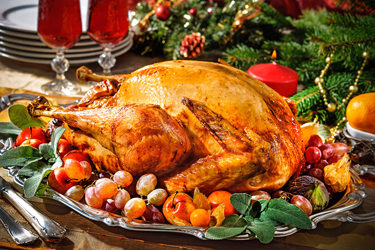 Food Styling Tips for Capturing the Ideal Holiday Meal: The Turkey