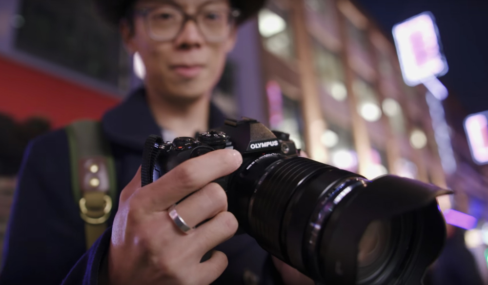 The Olympus OM-D E-M1 Mark II Shoots Impressively Stable 4K Video