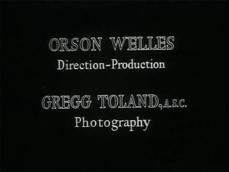 """6 Ways to """"Citizen Kane"""" Your Film: End Credits"""