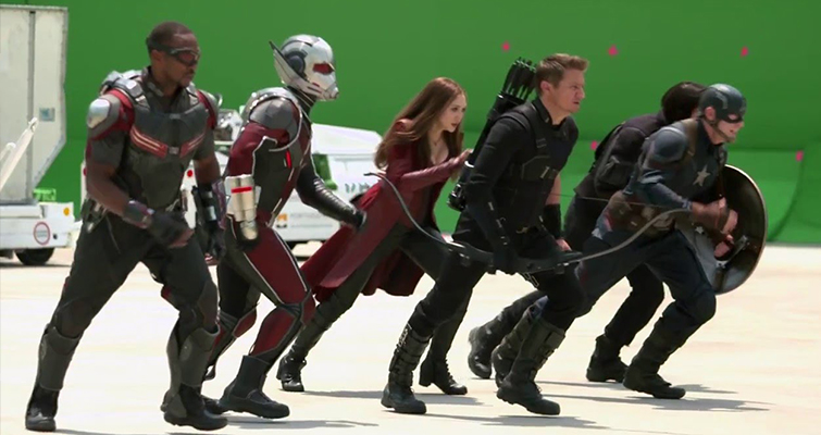 How Important Is the Content of a Trailer? Civil War Behind the Scenes