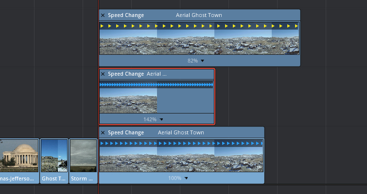 Speed Change Techniques In Resolve 12.5 — Speed Change