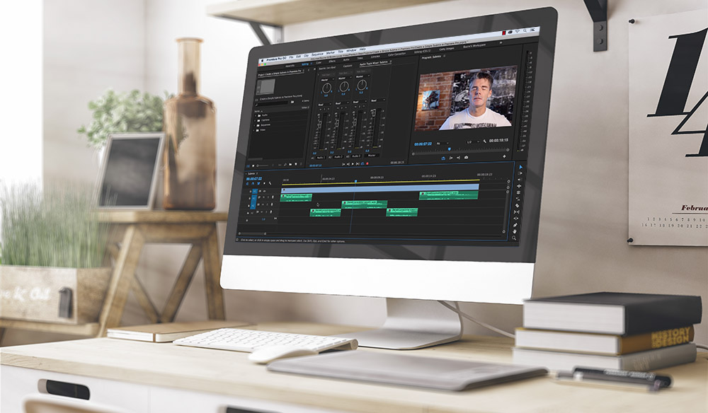 Create a Simple Submix in Adobe Premiere Pro
