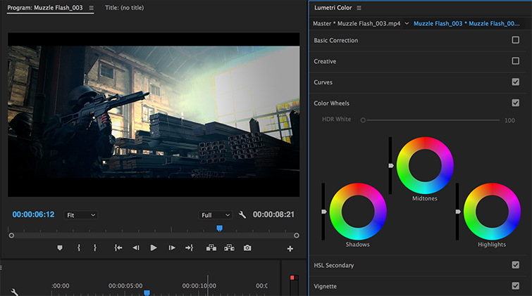 The Best Color Grading Software and Plugins for Video Editors - Premiere Pro Lumetri Controls