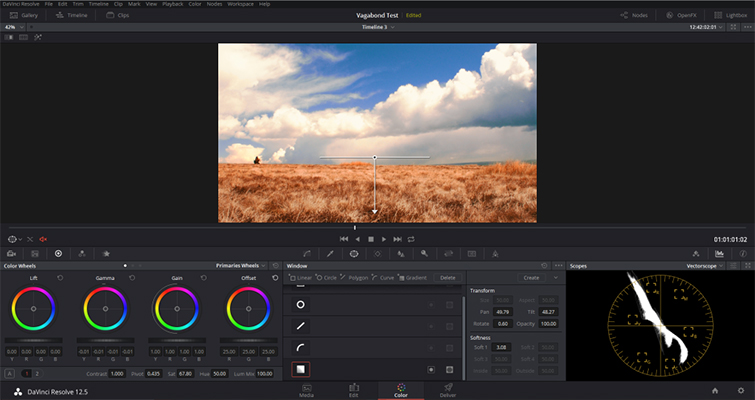 DaVinci Resolve: Enhance Your Sky in Under Five Minutes - Add Gradient