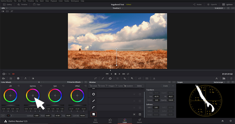 DaVinci Resolve: Enhance Your Sky in Under Five Minutes - Adjust Gamma