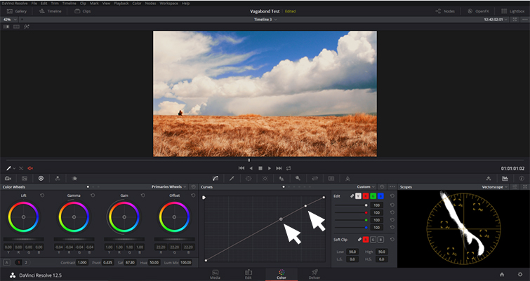 DaVinci Resolve: Enhance Your Sky in Under Five Minutes - Luma Curve