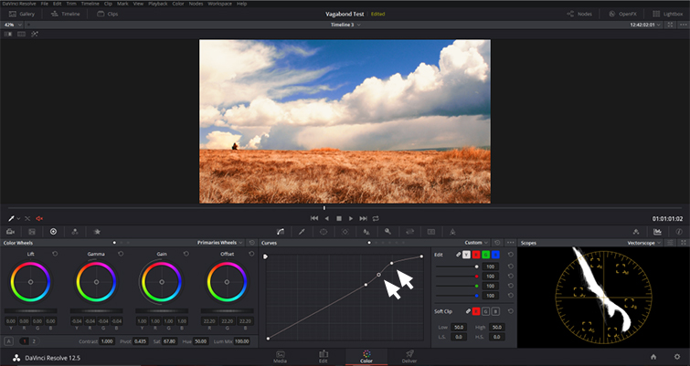 DaVinci Resolve: Enhance Your Sky in Under Five Minutes - Luma Curve 2