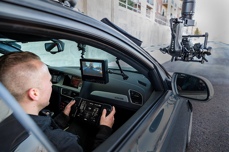 Turn Your Vehicle Into a Camera Car With MotoCrane: In action
