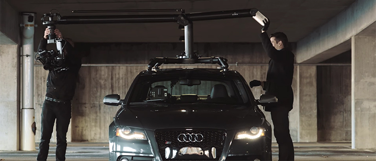 Turn Your Vehicle Into a Camera Car With MotoCrane: Setting Up