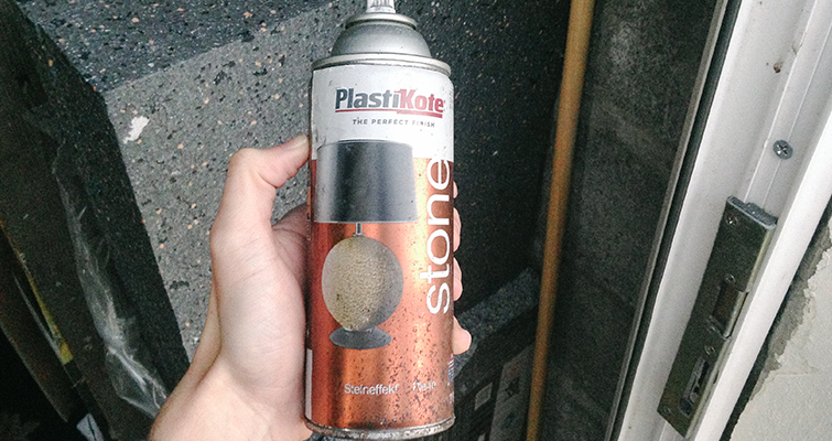 Go Medieval With These Easy-to-Make Fantasy Props: Spray Paint