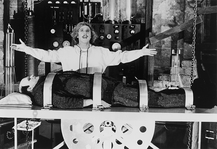 Visual Homage in Cinema: Young Frankenstein