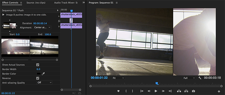 Video Editing Tips: Consider Slides, Pushes, and Splits in Premiere Pro — Push