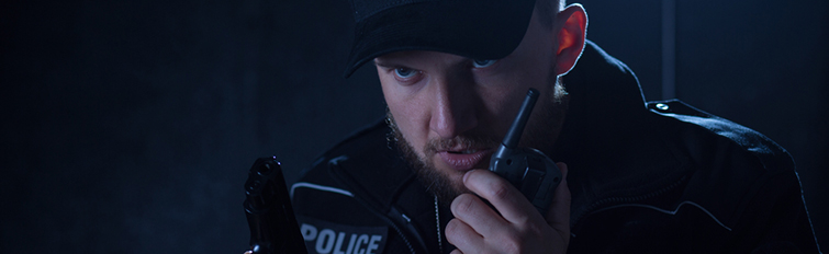 Intense Trailer Music and SFX for Editors - Police