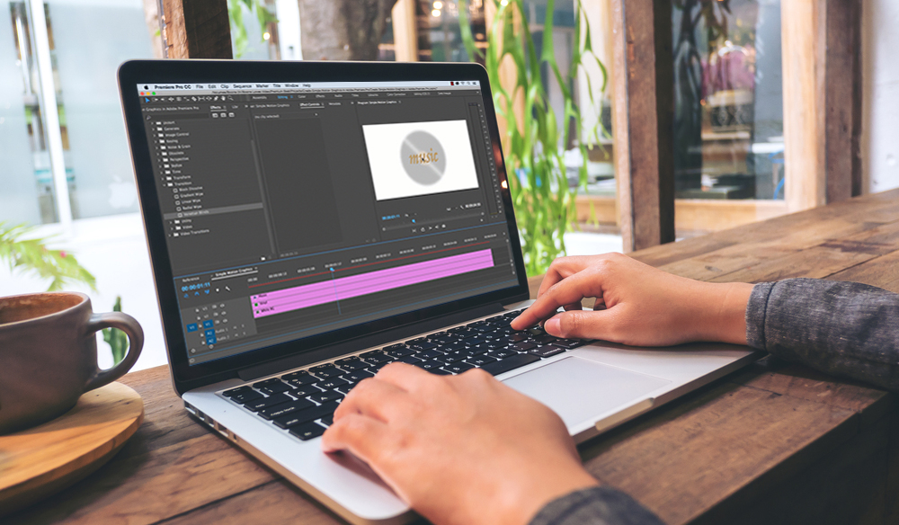 Create Simple Motion Graphics in Adobe Premiere Pro