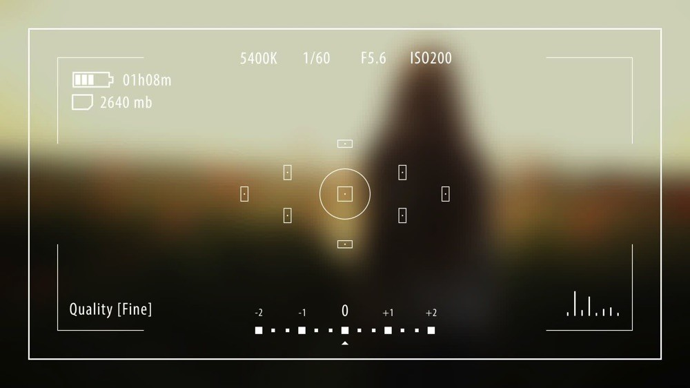 Photography HUD UI After Effects Template