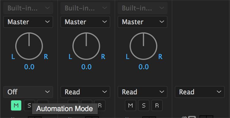 Automação de Áudio no Premiere Pro -2