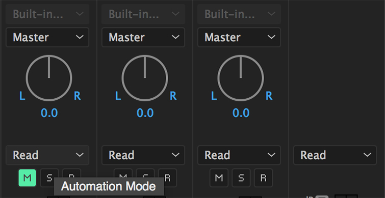 Automação de Áudio no Premiere Pro -3