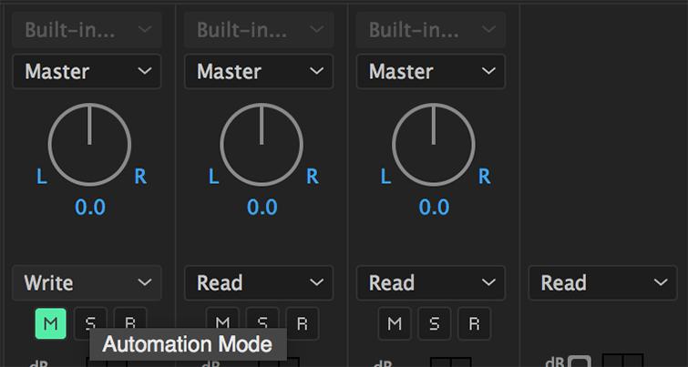 Automação de Áudio no Premiere Pro -4