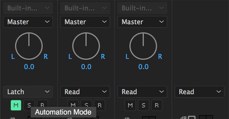 Automação de Áudio no Premiere Pro -6