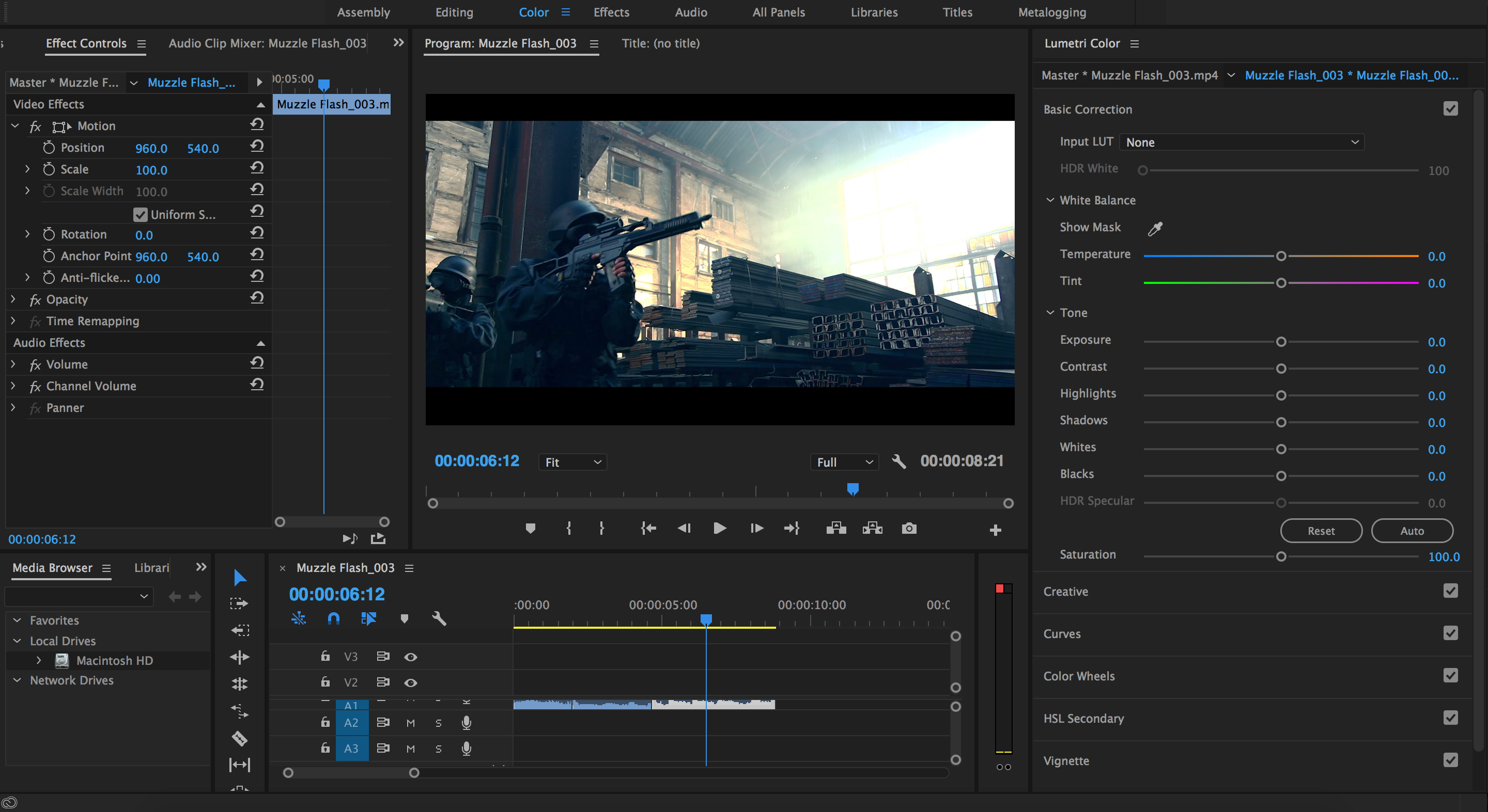 The Best Color Grading Software and Plugins for Video Editors - Premiere Pro Lumetri