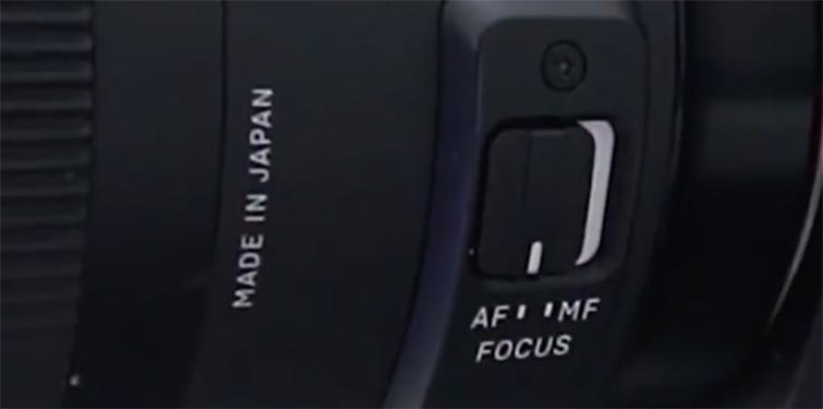 How to Autofocus Your DSLR in 3 Easy Steps - Set Lens to AF Mode