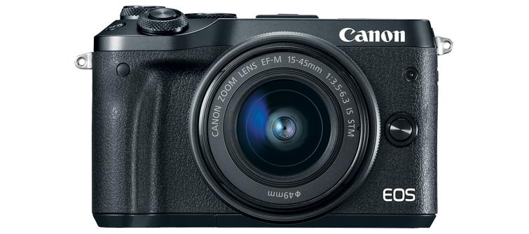 3 New Canon Cameras Under $1000 —M6