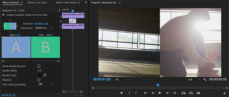 Video Editing Tips: Consider Slides, Pushes, and Splits in Premiere Pro — Slide 1