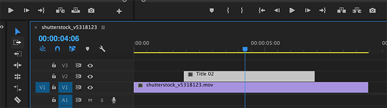 Video Editing Quick Tip: Creating Placeholder Titles — Premiere