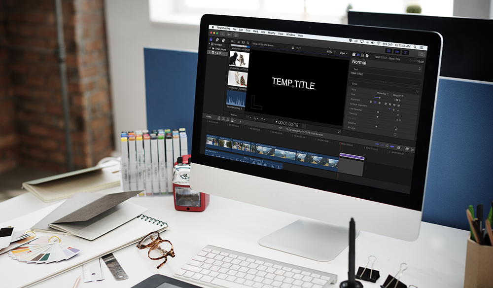 Video Editing Quick Tip: Creating Placeholder Titles