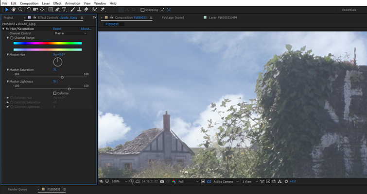 Fix A Blown-Out Sky In Under 60 Seconds In After Effects — Step Four