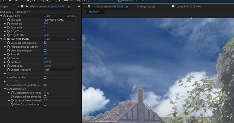 Fix A Blown-Out Sky In Under 60 Seconds In After Effects — Step Three