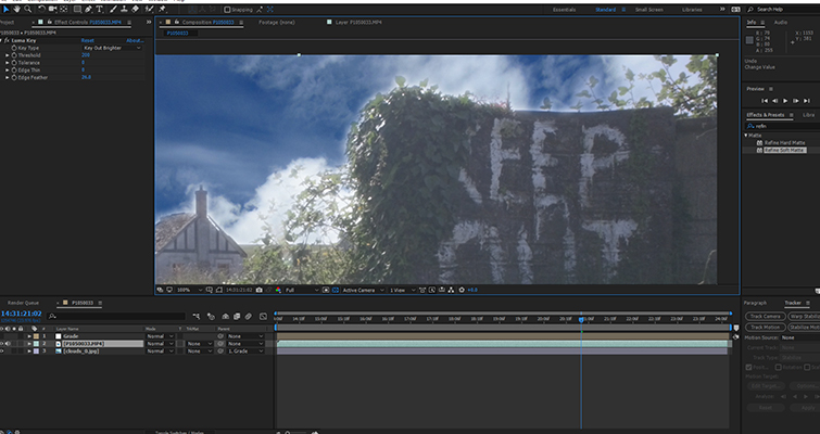 Fix A Blown-Out Sky In Under 60 Seconds In After Effects — Step 2.5