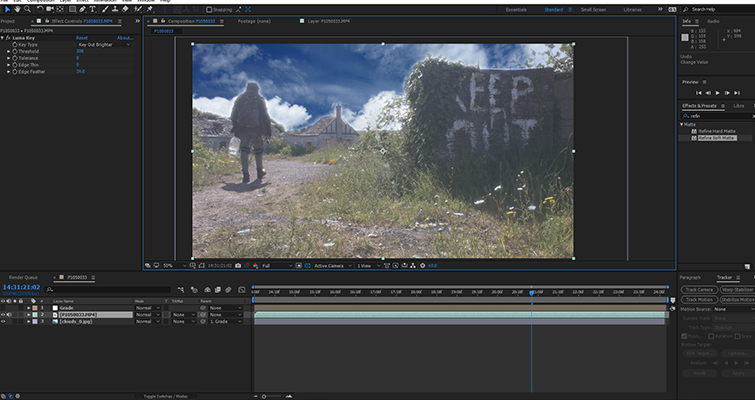 Fix A Blown-Out Sky In Under 60 Seconds In After Effects — Step Two