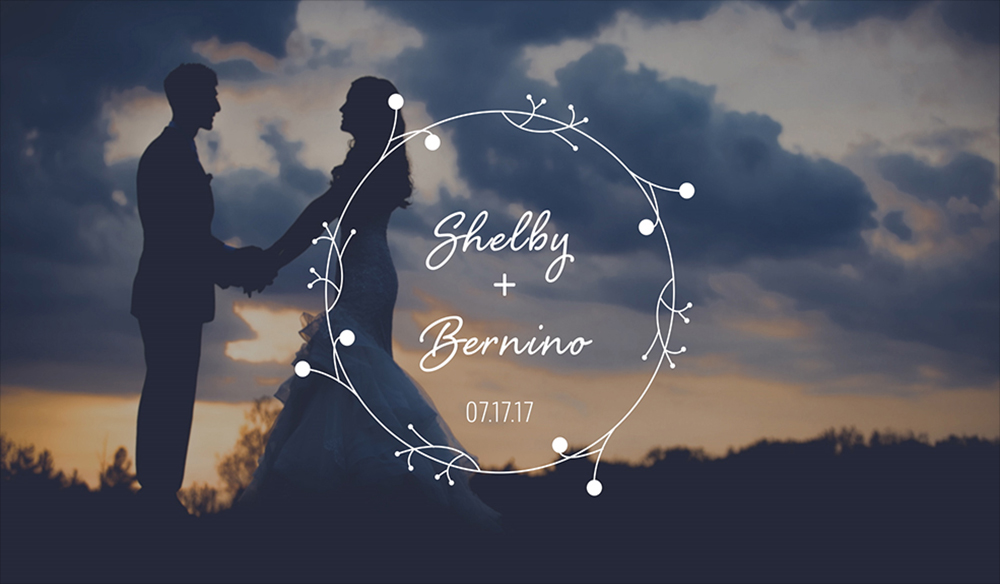 Create Wedding Titles for Your Wedding Videos