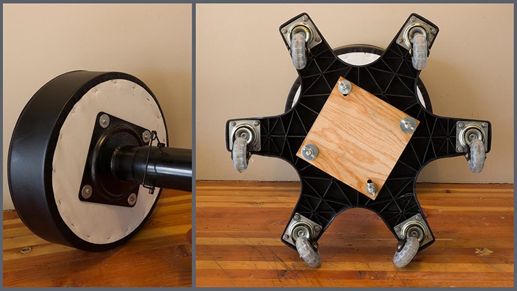 Build Your Own Butt/Pedestal Dolly for under $140 — In Progress