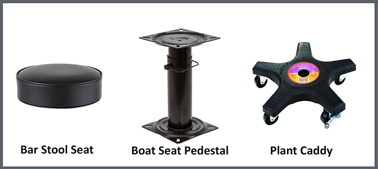 Build Your Own Butt/Pedestal Dolly for under $140 — Components