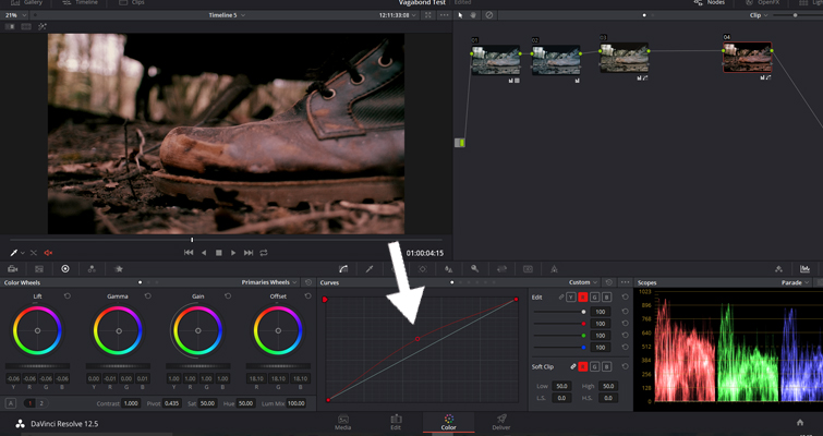 The Basics of Color Correcting With Curves — RGB Curves