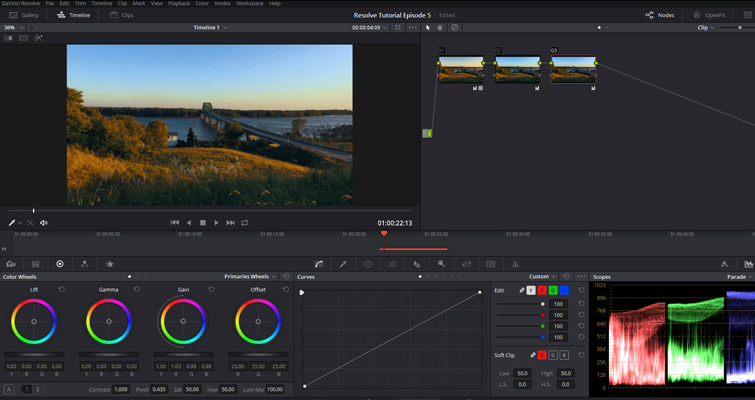 The Basics of Color Correcting With Curves — Initial Grade