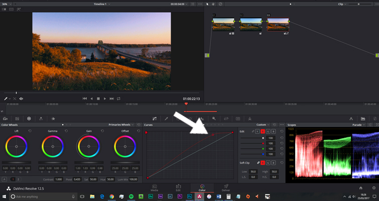 The Basics of Color Correcting With Curves — Red Channel