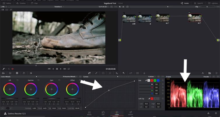 The Basics of Color Correcting With Curves — Control Point