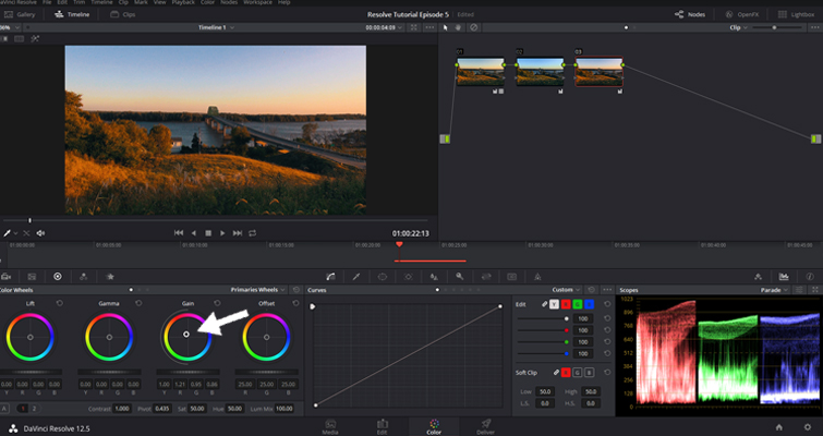 The Basics of Color Correcting With Curves — Curve Control