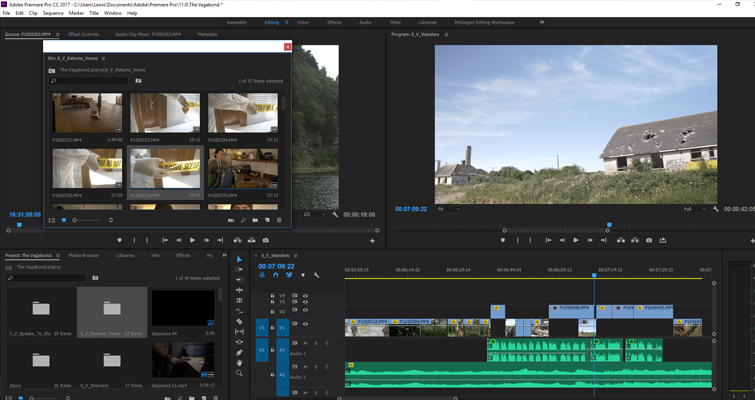 4 Premiere Pro Tips to Save Time — Bin Tab